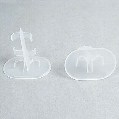 £2.59 • Buy 10pc Clear Doll Stand Support For Barbie Dolls Display Prop Up Model Accessories