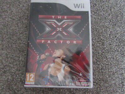 NINTENDO Wii GAME THE X FACTOR NEW & SEALED  • 5.95£