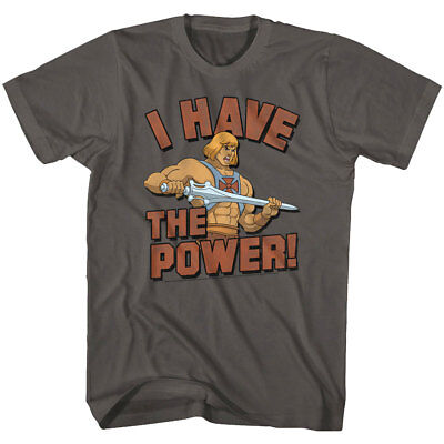 $21.50 • Buy Masters Of The Universe He-Man I Have The Power Men's T Shirt Prince Adam Sword