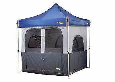 AU169.90 • Buy NEW Oztrail Converts Your 2.4m Gazebo Into A Functional Tent INNER Camping 4wd