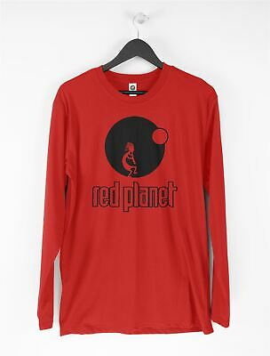 £15.95 • Buy Red Planet Records Long Sleeve T-Shirt - Detroit Techno Acid House