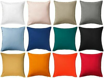 UK IKEA GURLI Cushion Cover 50cm X 50cm 100% Cotton New AVAILABLE IN Many COLOUR • 5£