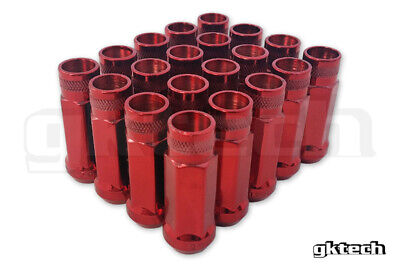 AU52 • Buy GKTECH Pack Of 20 - Red - M12x1.5 Wheel Lug Nuts - FREE SHIPPING