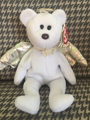 Ty Beanie Baby Babies - Halo II Bear - Retired - Rare Halo 2 Brown Nose Variant • 40£