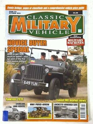Classic Military Vehicles Issue 17.3   2015 • 2£