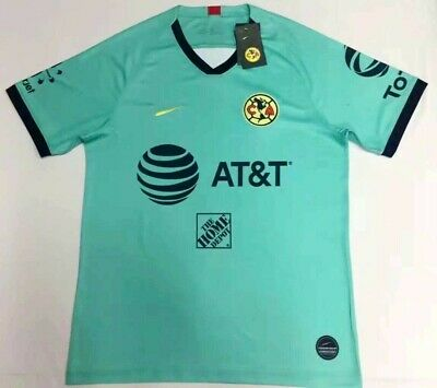 $16.88 • Buy 2019-2020 Club America Goalkeeper Soccer Jersey Short Sleeve T-shirt Size S-2XL