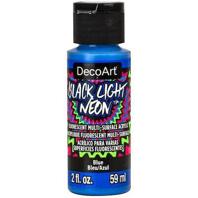 DecoArt Americana Black Light Neon Acrylic Paint 59ml (2oz) • 2.99£