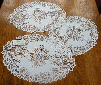 Heritage Lace Doilies Large Table Place Mats • 9.99£