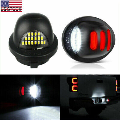 $10.49 • Buy 1 Pair LED License Plate Lights For Ford F150 Expedition Explorer Ranger Lincoln