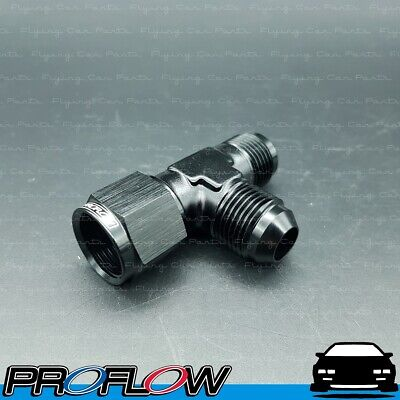 AU25.37 • Buy PROFLOW AN -8 (8AN) Female To Male Swivel Tee On Run Fitting Adapter Black