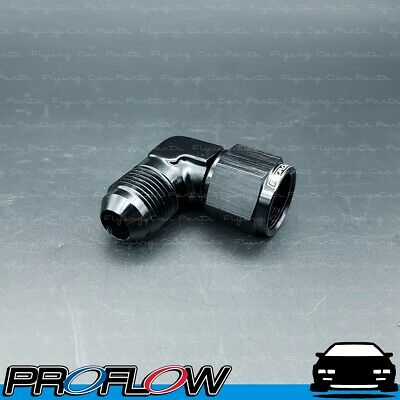 AU25.31 • Buy PROFLOW AN -8 (AN8) Male To Female 90 Degree Swivel Fitting Adapter Black