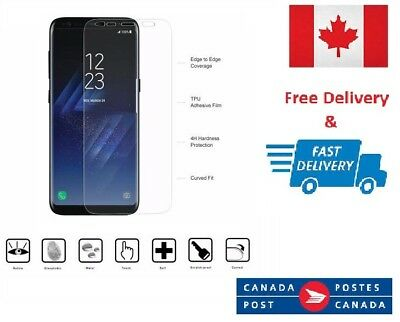 $ CDN4.23 • Buy Full Coverage 3D Film PET Screen Protector For Samsung Galaxy S8+ PLUS New