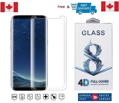 $ CDN8.03 • Buy Case Friendly Samsung Galaxy S8+ PLUS Curved Tempered Glass Screen Protector