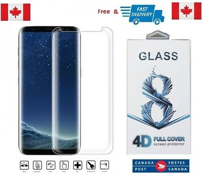 $ CDN8.03 • Buy Case Friendly Samsung Galaxy S8+ PLUS Full Cover Tempered Glass Screen Protector