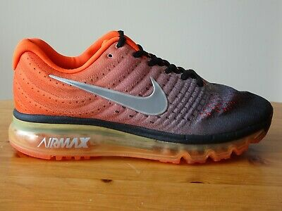 $69 • Buy NIKE AIR MAX 2017 RUNNING SHOES MAROON RED  MENS Size  7US 849559 601