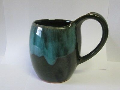 $ CDN12.99 • Buy Vintage Blue Mountain Pottery  Mug Green Black