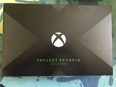 $750 • Buy NEW - Xbox One X Project Scorpio Edition 1TB Console - Limited Edition Console