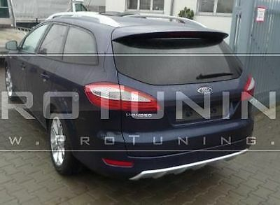 Roof Spoiler For Ford Mondeo MK4 07-10 Estate Trunk Wing Boot Lip Trim Cover • 87.05$