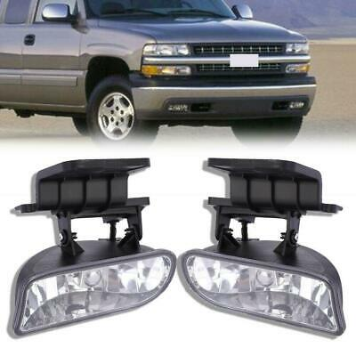 $23.86 • Buy Fog Lights Clear Come With 881 Bulbs For 99-06 Silverado Suburban Tahoe