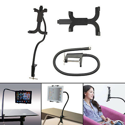 Gooseneck Arm 360 Bed Desk Lazy Stand Holder Mount For Ipad Air IPhone White • 7.79£