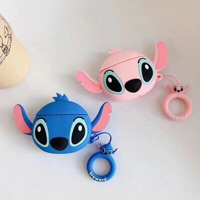 $ CDN6.15 • Buy Cute Cartoon Silicone Airpod Protective Case Cover Skin For Apple Airpods 1 2