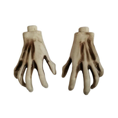$6.08 • Buy Realistic Plastic Skeleton Hands For Halloween Party Stage Props Decorations