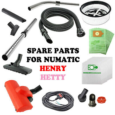 £8.79 • Buy Spare Parts For HENRY HETTY NUMATIC Vacuum Hoover Accessories Hose Tool Spares