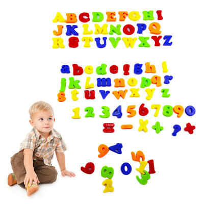 Magnetic Alphabet Numbers Fridge Magnet Learning Teaching Large Letters Numbers  • 5.99£