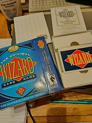 The Original Wizard Card Game. The Ultimate Game Of Trump! • 5.98$