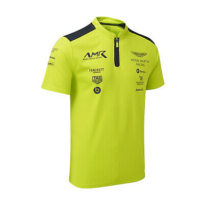 Aston Martin Racing Mens Team Polo Shirt Lime - XXXL • 68.82£