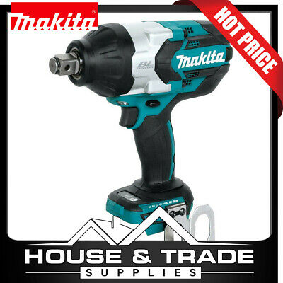 AU459 • Buy Makita Brushless Impact Wrench Cordless 3/4 Dr 18v Li-Ion DTW1001Z TOOL ONLY
