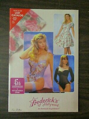 Frederick's Of Hollywood Catalog 1991 Vol 72 No 360 Lingerie Swimsuit Fredericks • 19.95$