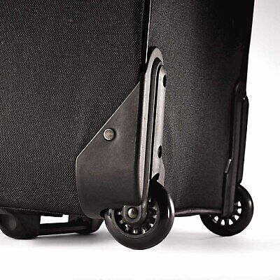 View Details Rolling Luggage Travel Bag Carry On Upright Suitcase American Tourister 2Pc Set • 63.28$