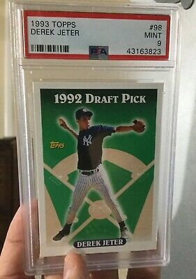 Derek Jeter Rookie Card