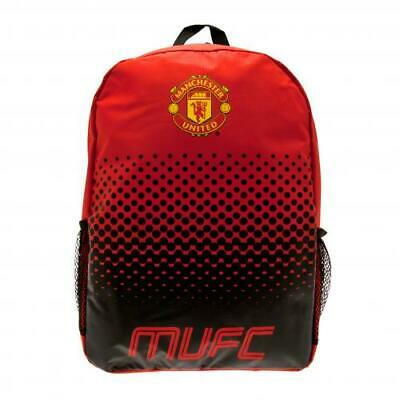 Official Manchester United School Bag Backpack. • 14.99£