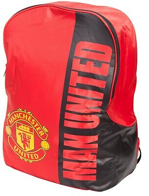 Official Manchester United F.C. School Bag Backpack. • 10.99£