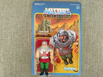 $18 • Buy Ram Man Masters Of The Universe Super 7 Reaction 3.75 Figure