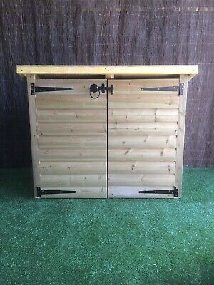 Emsworthy Recycle Box Store / Garden Storage / Pent Shed • 247.21£