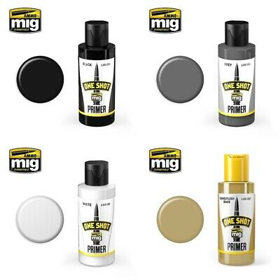 £7.99 • Buy Ammo By Mig One Shot Primers (Choose Your Colour)