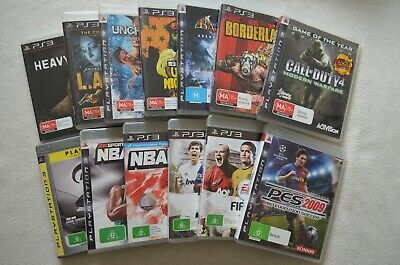 AU11.04 • Buy Various PS3 Games Choose From Call Of Duty LA Noire Arkham Asylum Gran Turismo 5