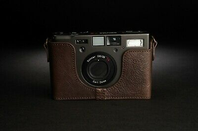 $ CDN46.48 • Buy Genuine Real Leather Half Camera Case Bag Cover For Contax T3 Film Camera