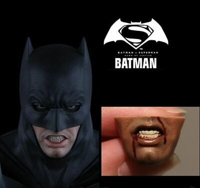 $ CDN19.82 • Buy Custom Mouth Replacement For 1/6 BATMAN V SUPERMAN: DAWN OF JUSTICE Hot Toys