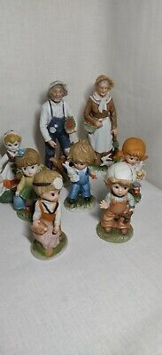 $ CDN50.22 • Buy 8 Antique Porcelain Figurine Lot