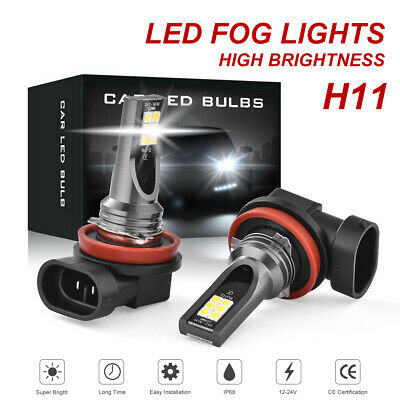 AU21.07 • Buy 2X H11 200W 12000LM LED Car Headlight Conversion Globes Bulbs Beam 6000K LD2032