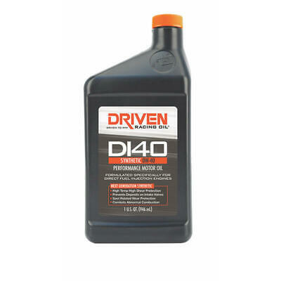 $ CDN67.97 • Buy Driven Racing Engine Oil 18406-4; Direct Injection DI40 Synthetic 0W-40 (4-Pack)