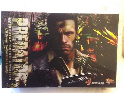 $ CDN475.18 • Buy 1/6 Predator Major Alan 'Dutch' Schaefer Figure Hot Toys JC Used