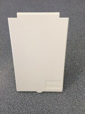Caravan Motorhome Mains Inlet/oulet Replacement Lid Flap Cover + Pins Cream • 5.99£