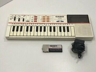 $40 • Buy Vintage Casio PT-82 Mini Electronic Keyboard Synthesizer W/ROM Pack RO-356 WORKS