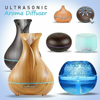 AU24.59 • Buy Aromatherapy Essential Oil Diffuser Aroma Ultrasonic Air Humidifier Purifier AU
