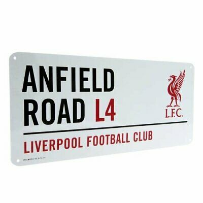 Liverpool Anfield Road Street Sign LFC Football Club Metal Wall Plaque Official • 8.49£